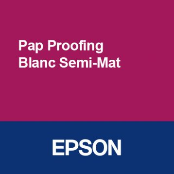Papier Proofing Blanc Semi-Mat - EPSON