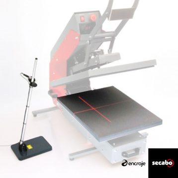 Laser de positionnement pour presse transfert