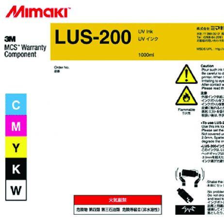 Encre Mimaki LUS-200 - UV Souple 3M - 1L