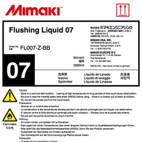 Liquide de nettoyage 07 Mimaki - UV - 2L - FL007-Z-BB