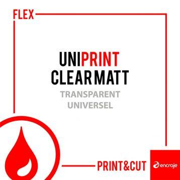 UniPrint Clear Matt