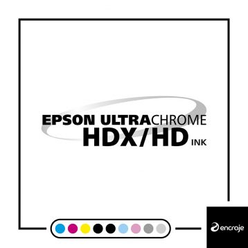 Pack STD - Cartouches EPSON UltraChrome HDX/HD - SC-P6000/SC-P8000