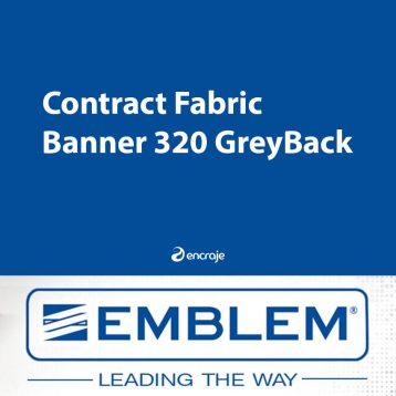 Bannière Textile PVC Opaque EMBLEM 320 gr