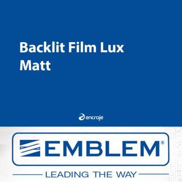 Film Polyester Diffusant Mat EMBLEM Backlit 200 µm