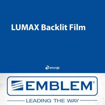 Film Polyester Diffusant Satin Mat EMBLEM Backlit 210 µm