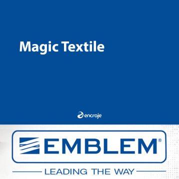 Bannière Textile Polyester Mate EMBLEM 180 gr