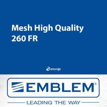 Bâche Microperforée PVC Mate EMBLEM Mesh 260 gr