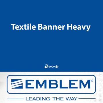 Bannière Textile Polyester Mate EMBLEM 280 gr