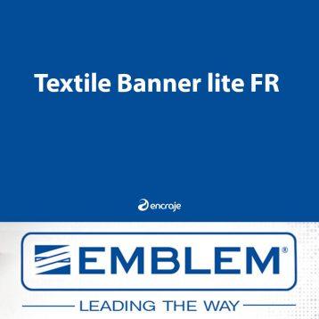 Bannière Textile Polyester Mate EMBLEM 135 gr