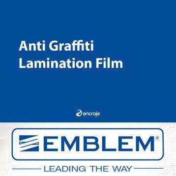Lamination Anti-Graffiti EMBLEM