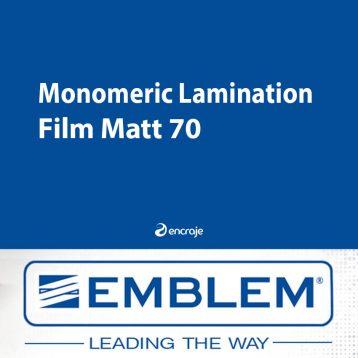 Lamination Monomère Mate EMBLEM