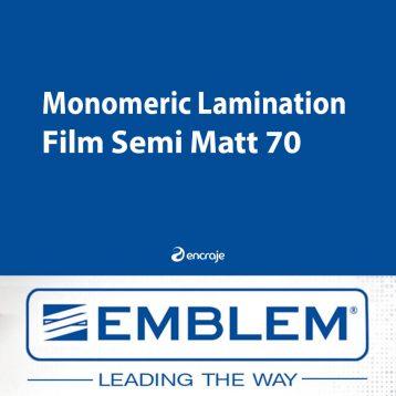 Lamination Monomère Semi-Mate EMBLEM