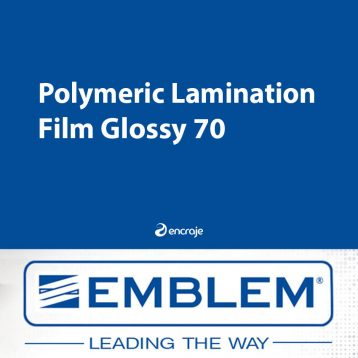 Lamination Polymère Brillante EMBLEM