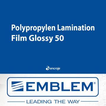 Lamination Polypropylène Brillante EMBLEM
